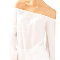 Enna Off The Shoulder Top | 27615 | Lilly Pulitzer