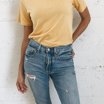 Brooklyn Everyday Tee - Yellow