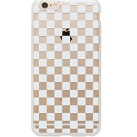 Clear Checkers iPhone 6 | Imported