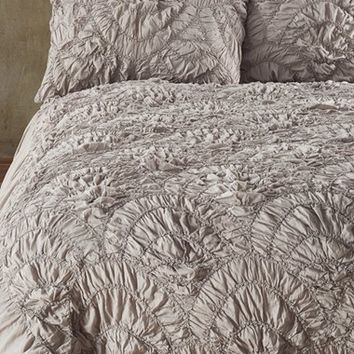 Nordstrom at Home 'Elise' Scallop Duvet Cover & 'Chelsea' Comforter Bedding Collection | Nordstrom