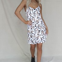 Go Over Leopard Knit Dress