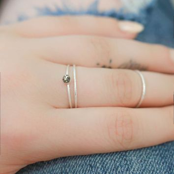 High Hopes Ring Set - Silver