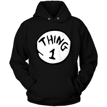 THING 1 Cat in The Hat Hoodie