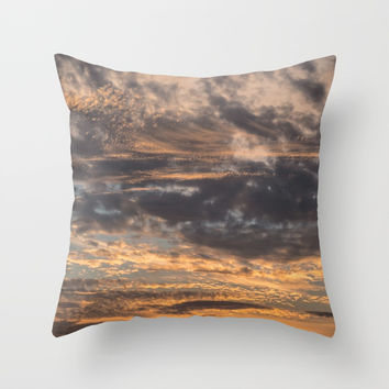 Pastel Colors Throw Pillow by audrey_ross