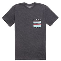 Hurley Tribe Block Pocket T-Shirt - Mens Tee - Black - Extra Large