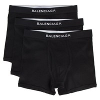 Black Boxer Briefs by Balenciaga