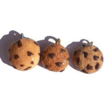 Small cookie charms. (3 pc)