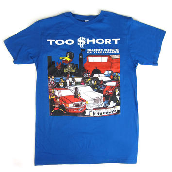 Too Short: Short Dog's In The House Shirt - Royal Blue