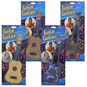 Bulk Miniature Toy Guitars, 11 in. at DollarTree.com