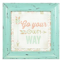 Williamson Asia ''Go Your Own Way'' Framed Wall Art