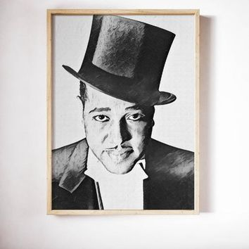 Duke Ellington Painting Poster Art Painting Print