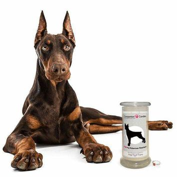I Love My Doberman Pinscher! - Companion Candles