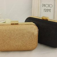 Fashion Retro Box Mini Cltuch Evening party purse shoulder bag women's bag