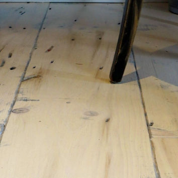 """Our """"Pickled Greek"""" Eastern White Pine - Old Growth Hardwood Flooring - Pickled Pine Plank - 3/4"""" - T&G - Wide Plank!"""