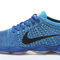 NFZA004 - Nike Flyknit Fit Zoom Agility (Royal Blue)