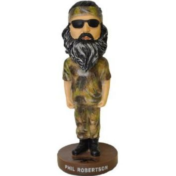 "7"" Phil Robertson Bobble Head Doll - As Seen on Duck Dynasty"