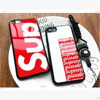 Supreme glossy phone case protective cover iPhone7 soft shell iphone 6s / 6Plus shell