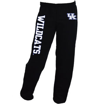 UK Interlock Mens Black Sweatpants