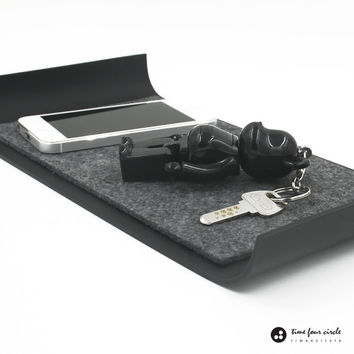 iPad Mini Tray,  iPhone Tray,Key Tray, Organizer Desk Tray, Modern And Minimalist