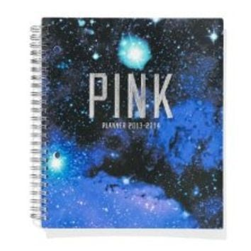 Victoria's Secret PINK Student Planner 2013-2014 Cosmic + BONUS VS Dog Decal, NEW!