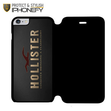 New Nwt Hollister Hco 2 Muscle Cool iPhone 6 Flip Case c2c208d980