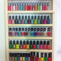 decorate it yourself nail polish rack