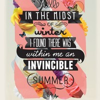 """The Invincible Summer"" - Art Print by Kavan&Co"