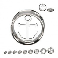 Anchor Screw Fit Plugs - Plugs - Jewelry Online Store