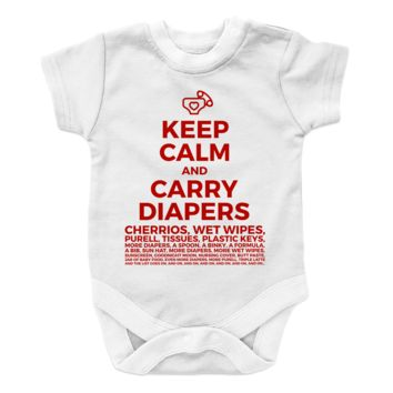 Keep Calm And Carry Diapers - 2