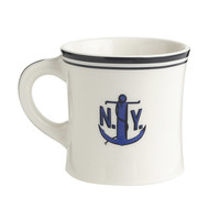Fishs Eddy For J.Crew Ceramic Anchor Mug