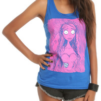 Corpse Bride Emily Girls Tank Top