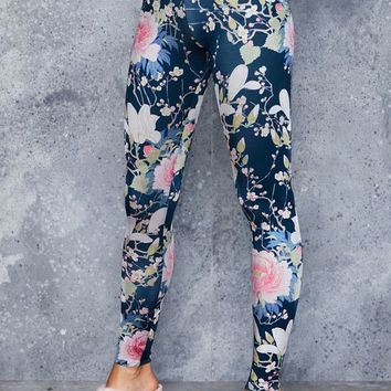 KOSON FLOWERS LEGGINGS