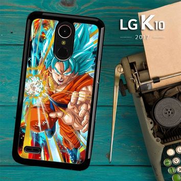 God Evolved Super Saiyan Son Goku Z4882 LG K10 2017 / LG K20 Plus / LG Harmony Case