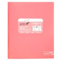 2 Pocket Plastic Folder with Prongs - Yoobi™
