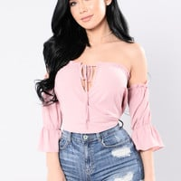 Love In The City Top - Rose