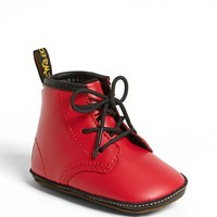 Infant Girl's Dr. Martens Crib Bootie