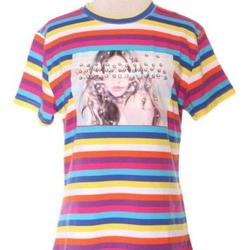 Lovely Walls Studded Stripe Tee