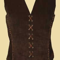 Short Doublet for men made of leather