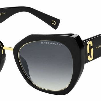 Marc Jacobs - Marc 313 G S Black  Sunglasses / Dark Gray Gradient Lenses