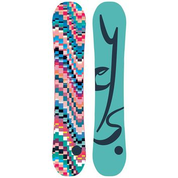 YES.EMOTICON SNOWBOARD - WOMEN'S 2017
