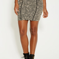 pencil skirt in textured knit
