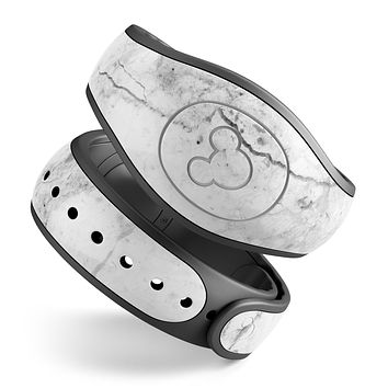 Cracked Marble Surface - Decal Skin Wrap Kit for the Disney Magic Band