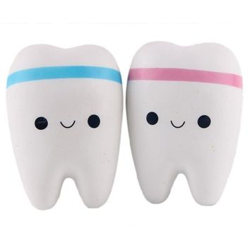 Squishy Cartoon Tooth