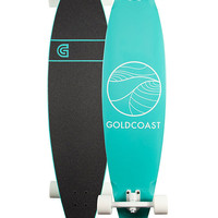 GOLDCOAST Classic Turquoise Pintail Longboard | Longboards & Cruisers