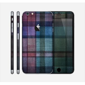 The Multicolored Vintage Textile Plad Skin for the Apple iPhone 6 Plus