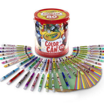Crayola Twistable Pencils/Crayons Color Can
