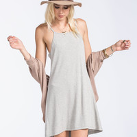 FULL TILT Ribbed Hi Low Dress | Boho Grunge