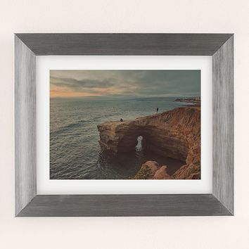 Myan Soffia Sunset Cliffs Art Print | Urban Outfitters