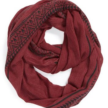 BP. Tribal Print Infinity Scarf (Juniors)