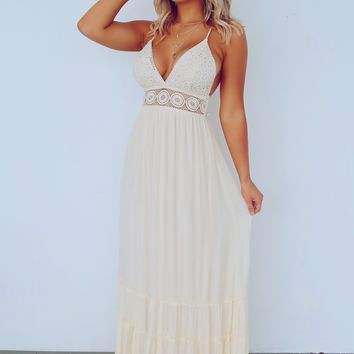 Endless Love Maxi: Cream